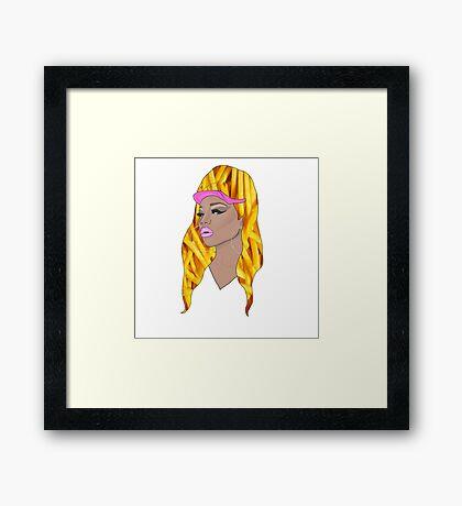 naomi fries smalls Framed Print