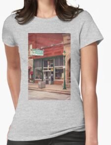 Route 66 - Chenoa Pharmacy Womens Fitted T-Shirt