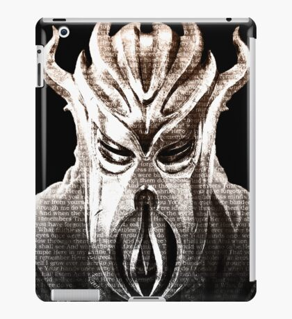 Miraak's Mantra iPad Case/Skin