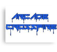 Blue Slime Canvas Print