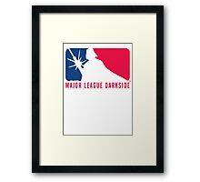 MLD Major League Darkside Logo Framed Print