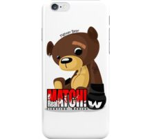 Fighter Bear Tedy Doll can Fight MMA Bear Fighter Shirt Mix Martial Art iPhone Case/Skin