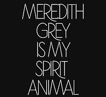 meredith grey is my spirit animal Womens Fitted T-Shirt