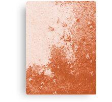 Earth Sweat Design (Potter's Clay Color) Canvas Print