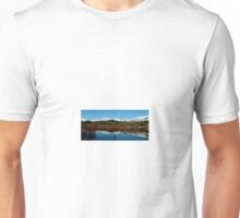 Two Medicine River, Reflection Unisex T-Shirt