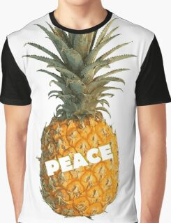 Pineapple Peace Graphic T-Shirt