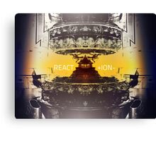 React (ion)  Canvas Print