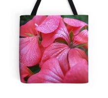 Flowers and drops Tote Bag