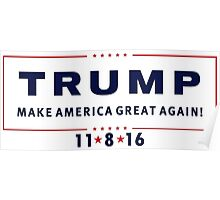 Trump Election Day Poster