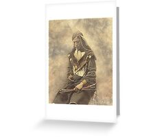 Indian Chief 4 Greeting Card