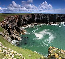 Stackpole Head - Swirl by Mark Haynes Photography