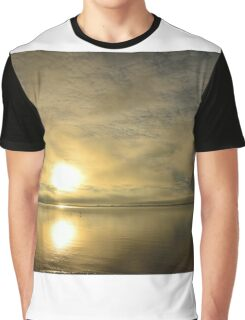 Sunset across the Moray Firth Graphic T-Shirt