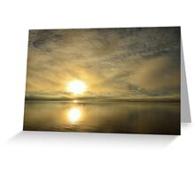 Sunset across the Moray Firth Greeting Card