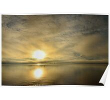 Sunset across the Moray Firth Poster