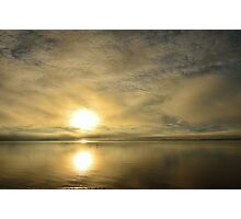 Sunset across the Moray Firth Photographic Print
