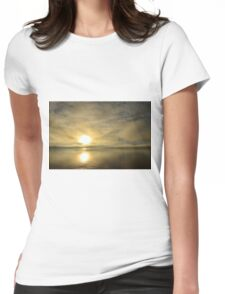 Sunset across the Moray Firth Womens Fitted T-Shirt
