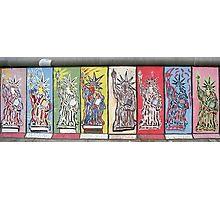 Berlin Wall Statue of Liberty graffiti Photographic Print