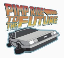 Pimp Ridin' to the Future Baby Tee