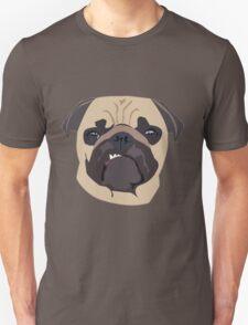 cute digital pug Unisex T-Shirt
