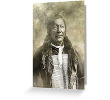 Indian Chief 6 Greeting Card