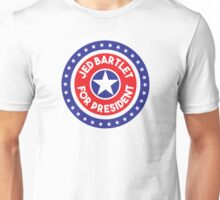 Re-Elect  Jed Bartlet - Ring of Stars Unisex T-Shirt
