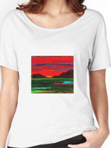 sunset 2 Women's Relaxed Fit T-Shirt