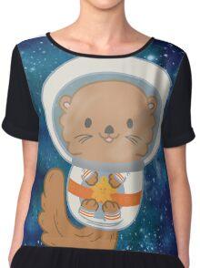 Otter Space Chiffon Top