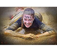 Tough Mudder Photographic Print