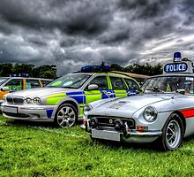 HDR Police Cars by Andrew Pounder
