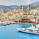 Sailing into Monte Carlo by Stephen Frost