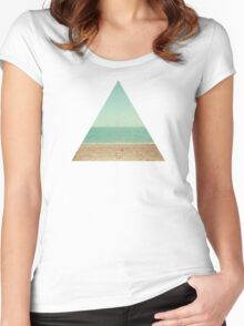 Footprints Women's Fitted Scoop T-Shirt