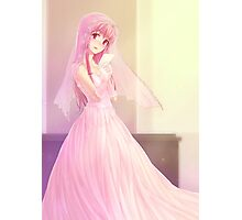 Yuno Gasai Wedding Gown Photographic Print