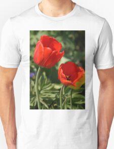 Red Tulip Pair T-Shirt