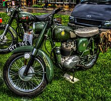 BSA Motorcycles by Andrew Pounder