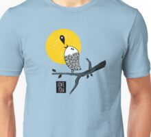 Birds and clouds Unisex T-Shirt