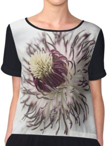 clematis blossom Chiffon Top