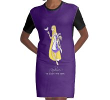 Mad Alice: To Each his Own Graphic T-Shirt Dress