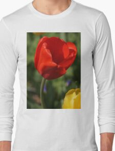 Red Tulip with Friend Long Sleeve T-Shirt