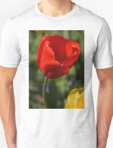 Red Tulip with Friend T-Shirt