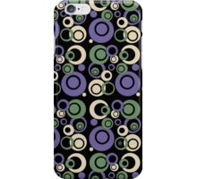 Retro Bubbles #2 iPhone Case/Skin
