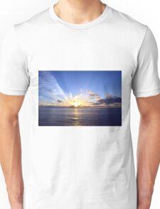 Sunset at Sea Unisex T-Shirt
