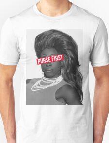 purse first!! Unisex T-Shirt