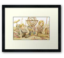 Edward and Alphonse Elric Framed Print