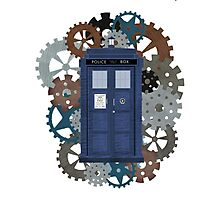 The TARDIS, a flight through Time Photographic Print