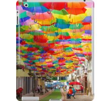 Floating Umbrellas iPad Case/Skin