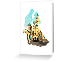 Princess Character Inspired Home Greeting Card