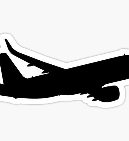 Night Airliner Sticker