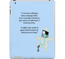 Some people have all the luck iPad Case/Skin