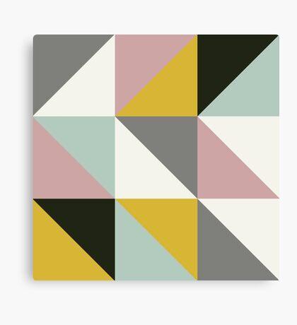 Retro Texture Pattern Canvas Print