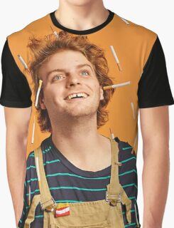 Raining Cigarettes Graphic T-Shirt